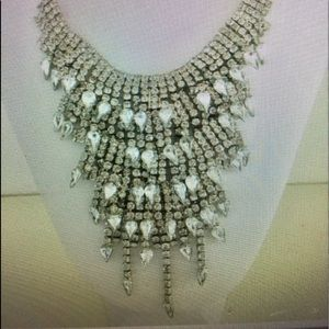 Cascading crystal statement necklaces N1149S